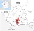 Locator map of Kanton Argenton-sur-Creuse 2019.png