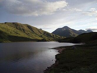 Loch Arkaig treasure - Loch Arkaig in Lochaber.