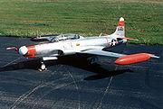 Lockheed NT-33A USAF