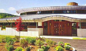Congregation Beth Israel (North Adams, Massachusetts) - Image: Lois st shul