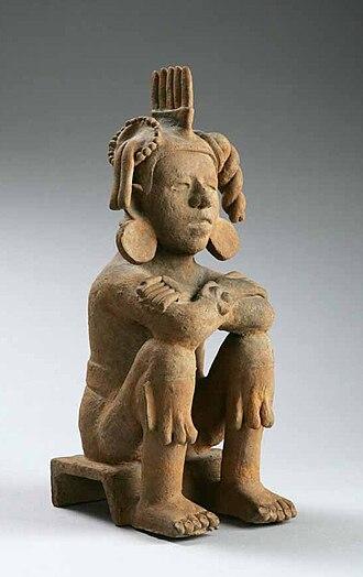 Xōchipilli - Xochipilli, Aztec terracotta  Lombards Museum