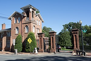 Oak Hill Cemetery (Washington, D.C.) - Italianate gatehouse - Oak Hill Cemetery
