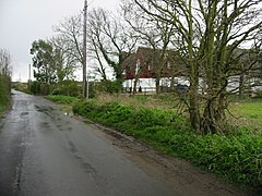Looking SE along Fox's Cross Road - geograph.org.uk - 759310.jpg