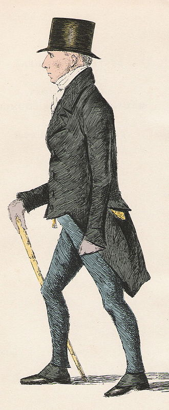 Henry Cockburn, Lord Cockburn - Lord Cockburn, from the Etching in Crombie's Modern Athenians