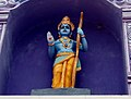 Lord Rama statue at Venkateswara Temple in Midhilapuri VUDA colony.JPG