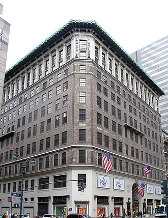 Lord & Taylor - The company's headquarters and flagship store at 424 Fifth Avenue to be sold to a joint venture of WeWork.