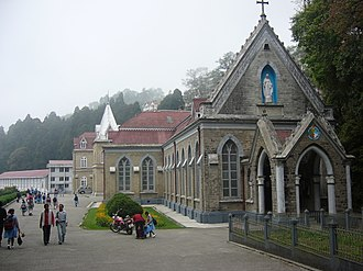 Sisters of Loreto - Loreto Convent, Darjeeling India, established in 1846.