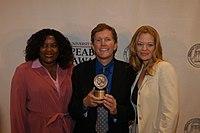 Loretta Devine, John J. Sakmar, and Jeri Ryan, May 2003 (4).jpg