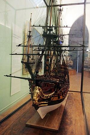 Louis Quinze (ship model) - Image: Louis Quinze mp 3h 9292