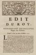 Louis XV - Edit du Roy concernant les esclaves nègres des colonies donné à Paris au mois d'octobre 1716, p1, Manioc, SCD Université Antilles.png