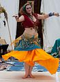 Lovely belly dancer at the 2012 Las Vegas Age of Chivalry (8104156700).jpg