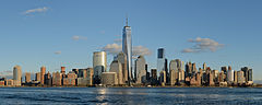 Lower Manhattan from Jersey City November 2014 panorama 1.jpg