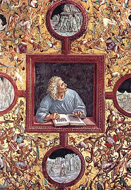 Luca signorelli, cappella di san brizio, poets, virgilio