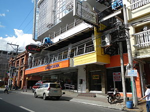 Lucena, Philippines - Downtown M.L. Tagarao Street in Poblacion (Bayan)