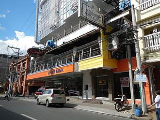 Lucena, Philippines - Downtown M.L. Tagarao Street in Poblacion (Bayan)