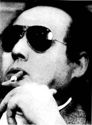 Sicilian Mafia Commission - Luciano Leggio, a member of the triumvirate that was formed in 1970, at a court appearance in 1974