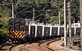 Lucky Cement freight train at TRA Nuannuan Station 20150214.jpg