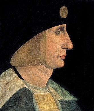 Duke of Orléans - Image: Ludvig XII av Frankrike på målning från 1500 talet