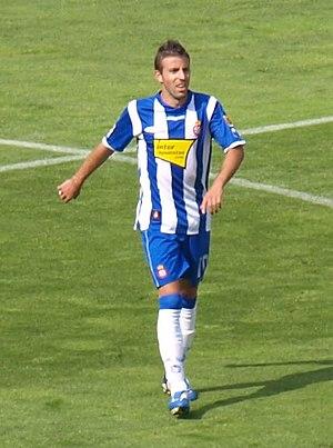 Luis García (footballer, born 1981) - García in action for Espanyol in 2009
