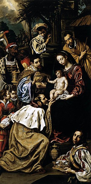Luis Tristán - The Adoration of the Magi, Museum of Fine Arts (Budapest)