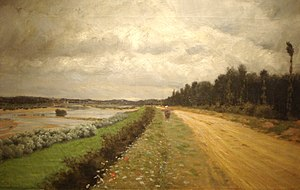 Ofanto - Image: Lungo L'ofanto (1870) De Nittis