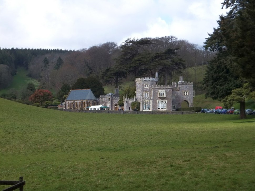 Luscombe Castle (geograph 3447464)