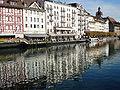 Luzern - Reuss-Ufer.JPG