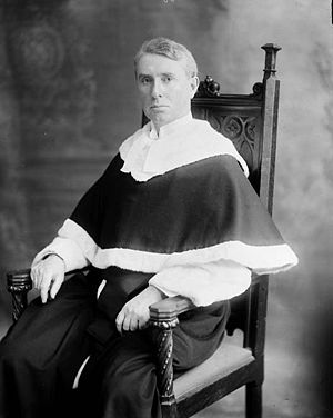 Sir Lyman Poore Duff, A former judge of the Supreme Court of Canada.