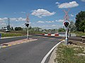 MÁV 5341, Road 6213 level crossing, 2017 Pákozd–Dinnyés.jpg