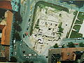Március 15. Square from air. Vác.JPG