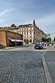 Městské hradby podél třídy Svobody a dům, čp. 637, Havlíčkova, Olomouc.jpg
