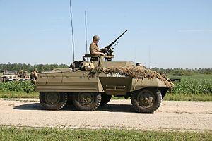 M20 Armored Utility Car, Thunder Over Michigan 2006.jpg