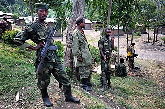 March 23 Movement - Image: M23 troops Bunagana 4