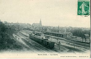 MB - SAINT-JUST - La Gare.JPG