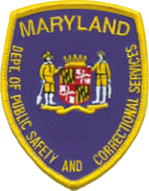 Maryland Department of Public Safety and Correctional Services - Image: MD DPSCS