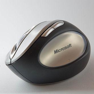Mouse button - Five-button ergonomic mouse