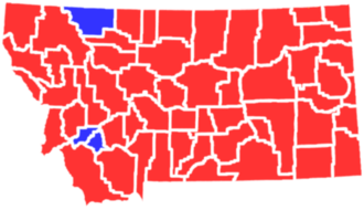 United States presidential election in Montana, 1928 - Image: MT1928president