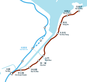 MTR Ma On Shan Line Geograpical Map.png
