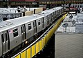 M train service resumes on the Myrtle Viaduct (41762466452).jpg