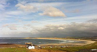 Cloughaneely - Machaire Rabhartaigh beach in Cloughaneely