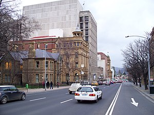 Macquarie Street Hobart CBD