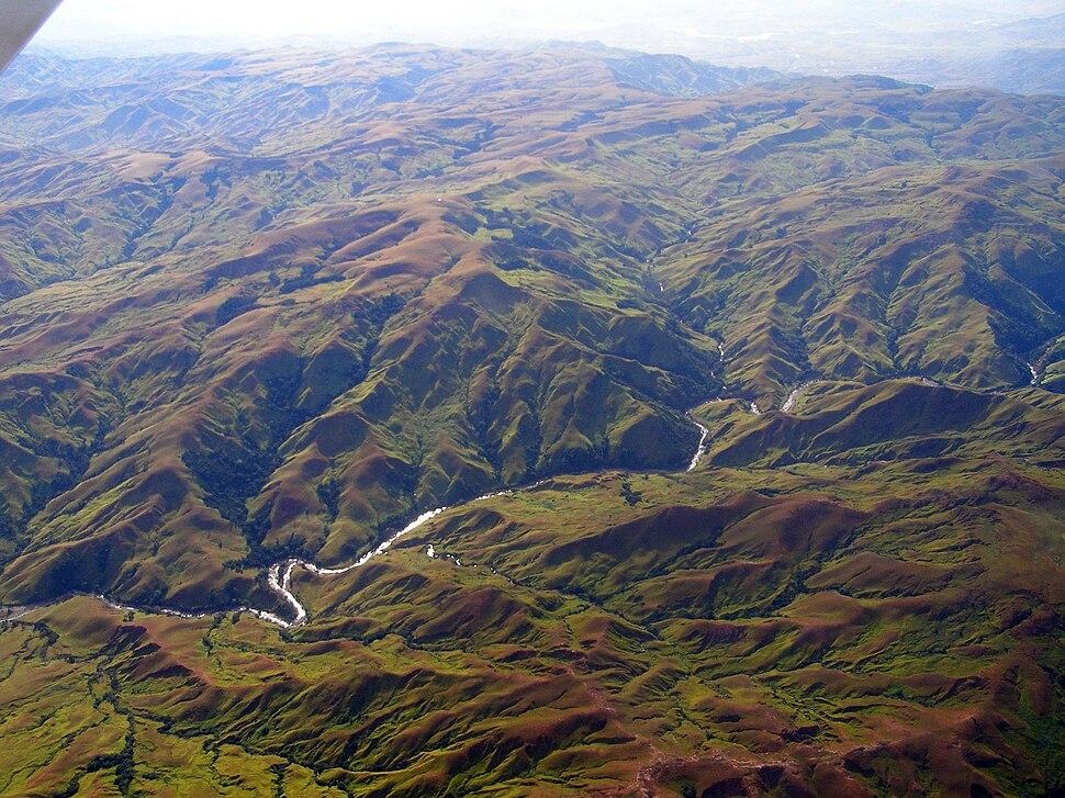 Madagascar highland plateau