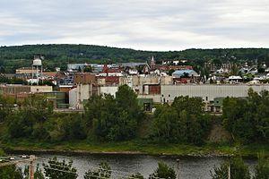 Madawaska, Maine - Image: Madawaska ME 1