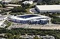 Madejski Stadium aerial, August 2014.jpg
