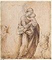 Madonna and Child with the Infant Saint John the Baptist and Two Putti (recto); Madonna and Child with the Infant Saint John the Baptist and a Putto (verso) MET sf-rlc-1975-1-271-v.jpeg