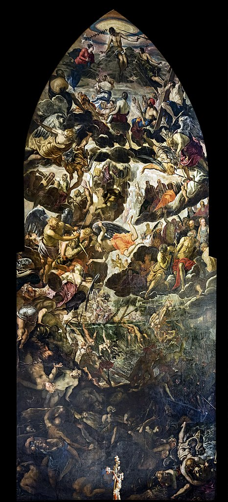 https://upload.wikimedia.org/wikipedia/commons/thumb/3/36/Madonna_dell%27Orto_%28Venice%29_-_Choir_-_The_Last_Judgment_by_Jacopo_Tintoretto.jpg/466px-Madonna_dell%27Orto_%28Venice%29_-_Choir_-_The_Last_Judgment_by_Jacopo_Tintoretto.jpg