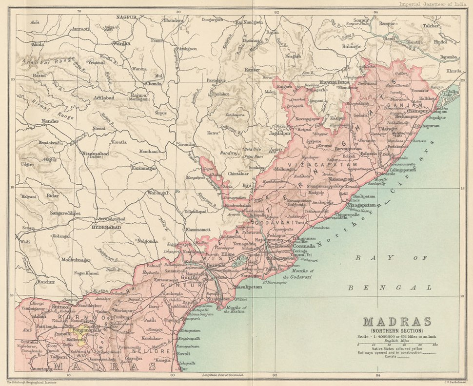 Madras Prov North 1909