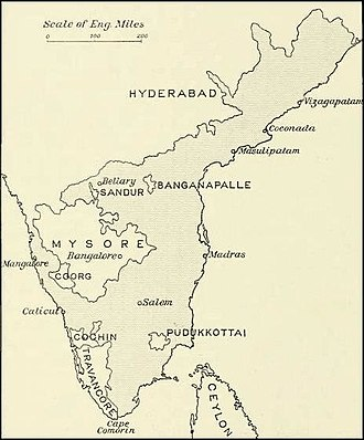 Madras Presidency - The Madras Presidency in 1913