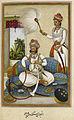 Maharana Javan Singh of Udaipur - Tazkirat al-umara (1830), f.8v - BL Add. 27254.jpg