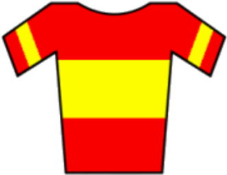 2016 national road cycling championships - Image: Maillot España